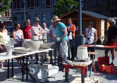 Biennale 2008 - Marché des potiers (1)