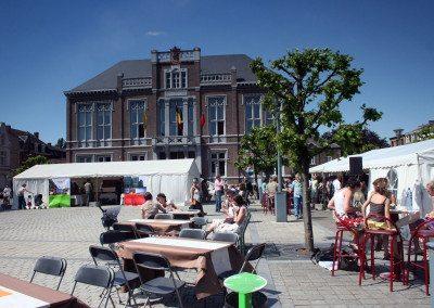 Biennale 2008 - Place des Tilleuls et Pavillion Taiwan