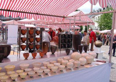 Biennale de la céramique 2006 - Marché des potiers - place du Chapitre (4)